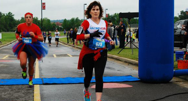 Michelle Bratton races for a cure with ANRF