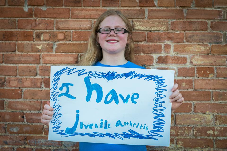 Hannah LeBeau - Juvenile Arthritis