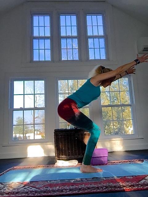 Yoga And Arthritis Elizabeth S Balancing Act