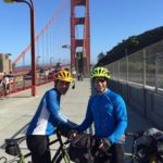 Golden Gate Bridge | Biking For RA Research