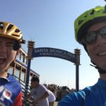 Ivan and Mark Biking For RA Research
