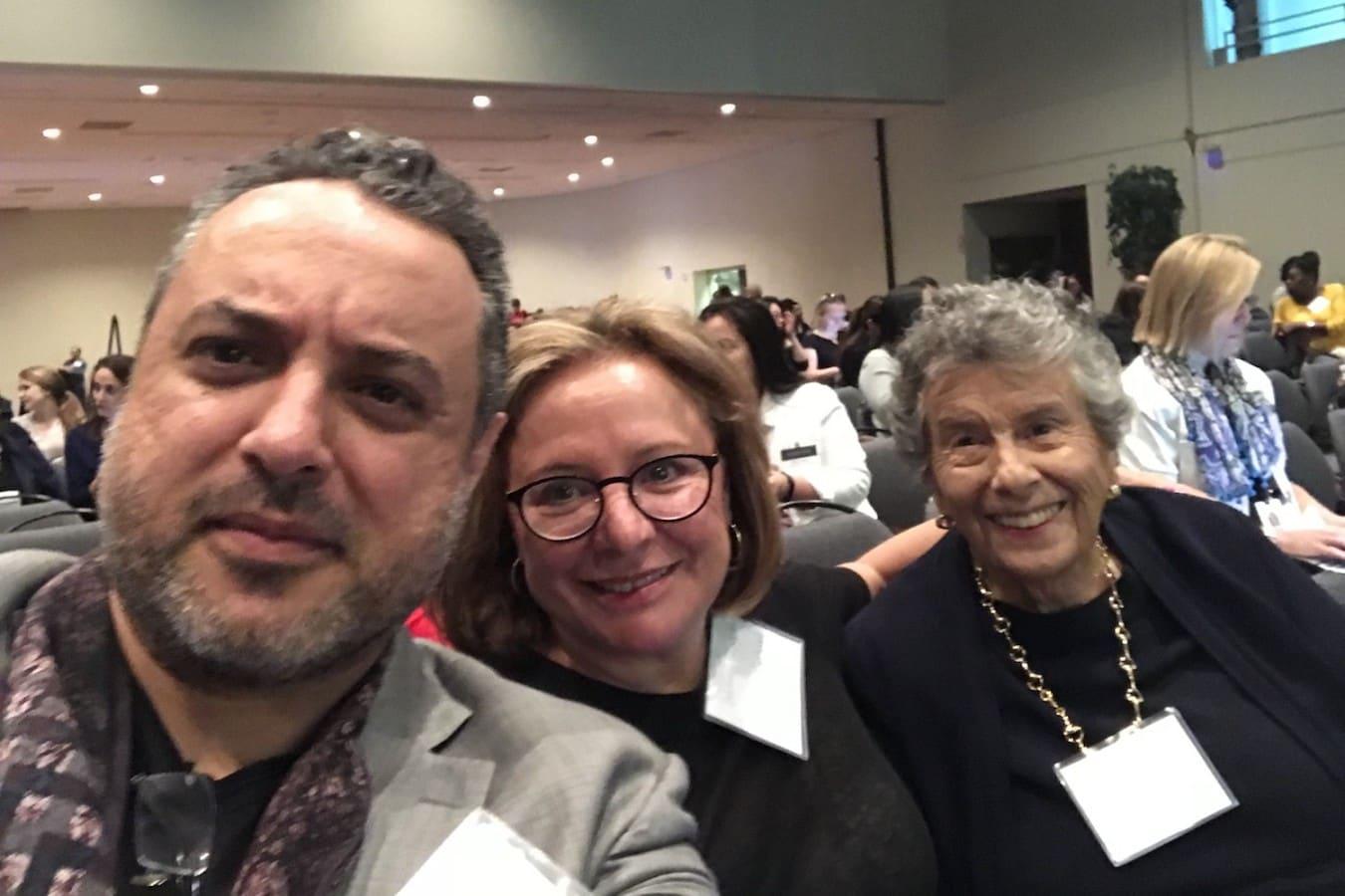 Zaher Nahle, PhD | Debbie Sampson | Hon. Sally Anne Sheridan