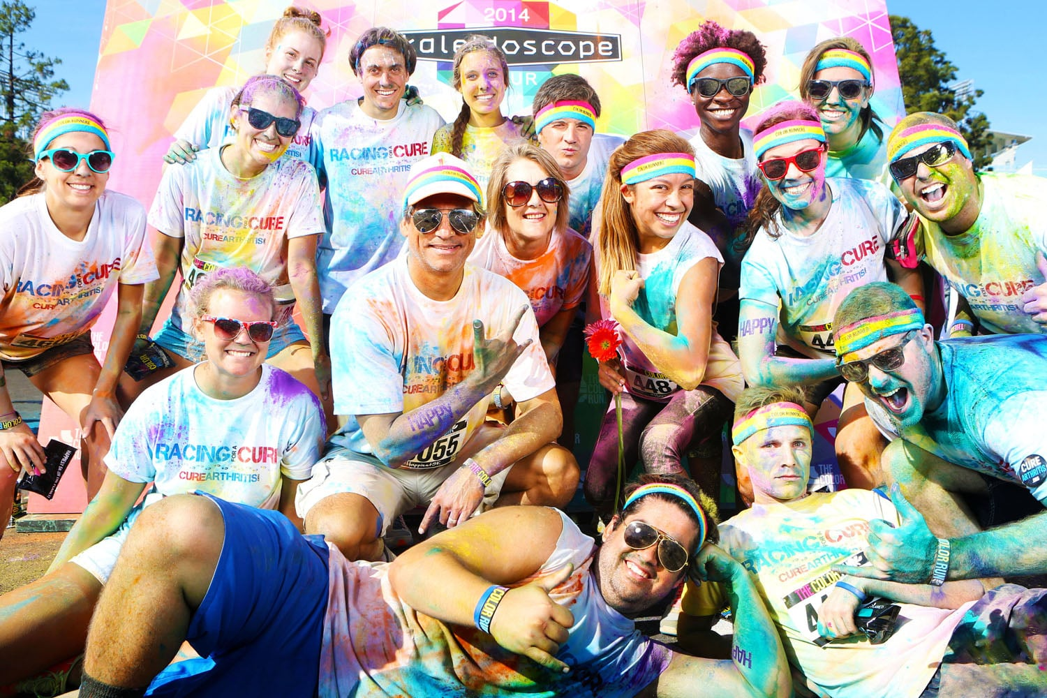 Racing For A Cure | Color Run Team